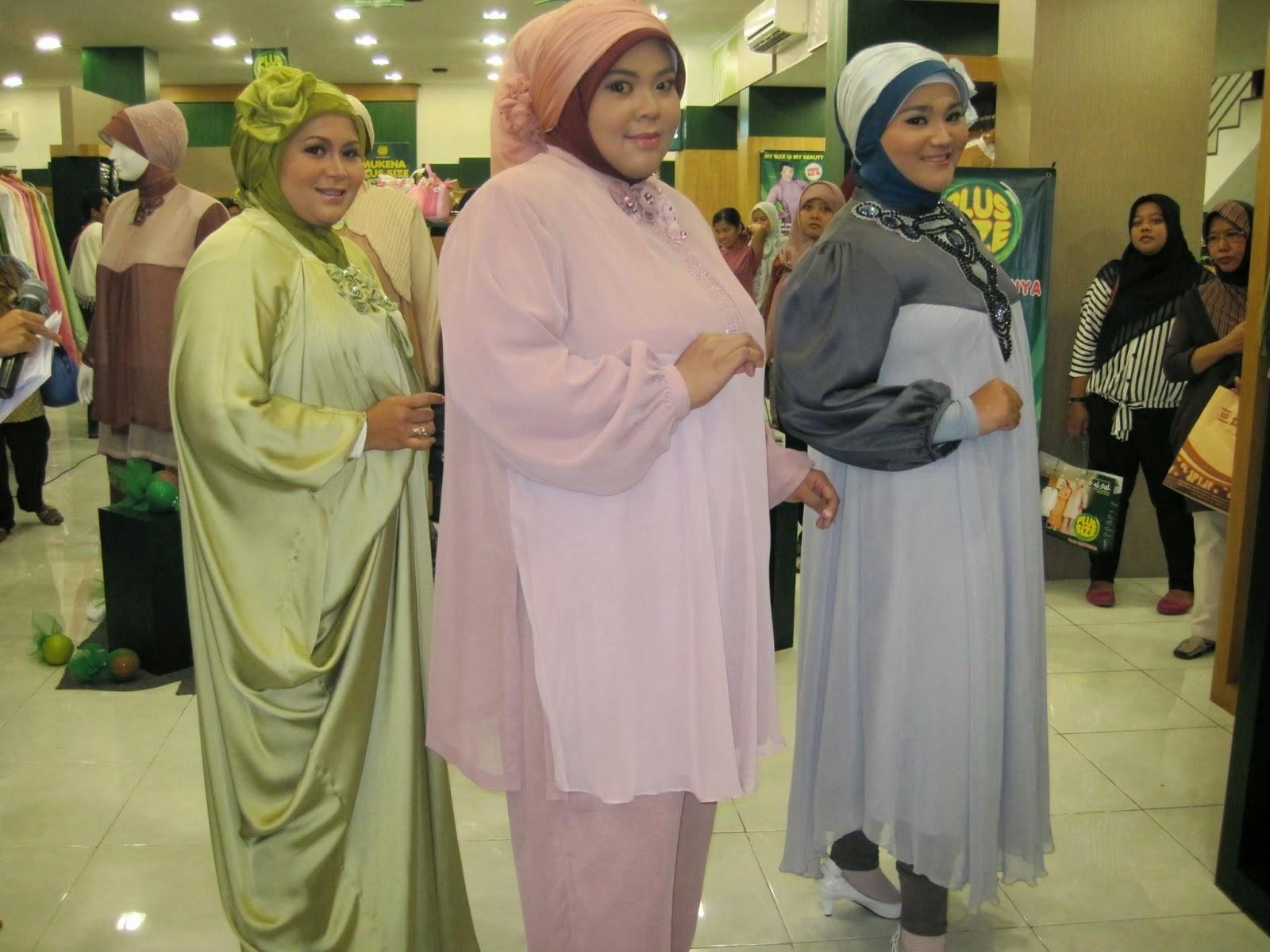 Desain Gamis Untuk Orang Gemuk Baju Muslim