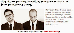 Travelling Hairdresser Top Tips from Hooker and Young.