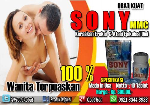 Obat Kuat Sony Penambah Stamina Sexsualitas Pria Dalam Hubungan Intim.