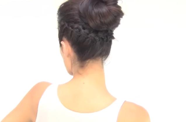 Recogidos y Peinados de novia Ella Hoy - Peinado Con Recogido Trenzado