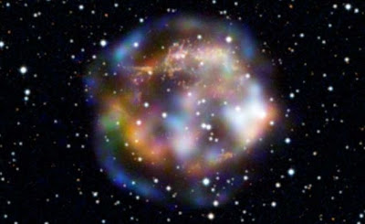 Photo from NASA: Space after a star went supernova