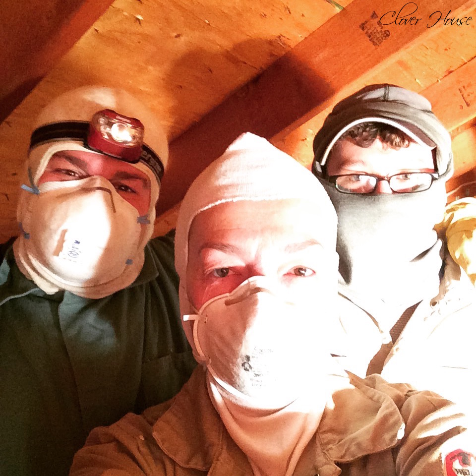 Clover House Diy Blown In Insulation Using Greenfiber