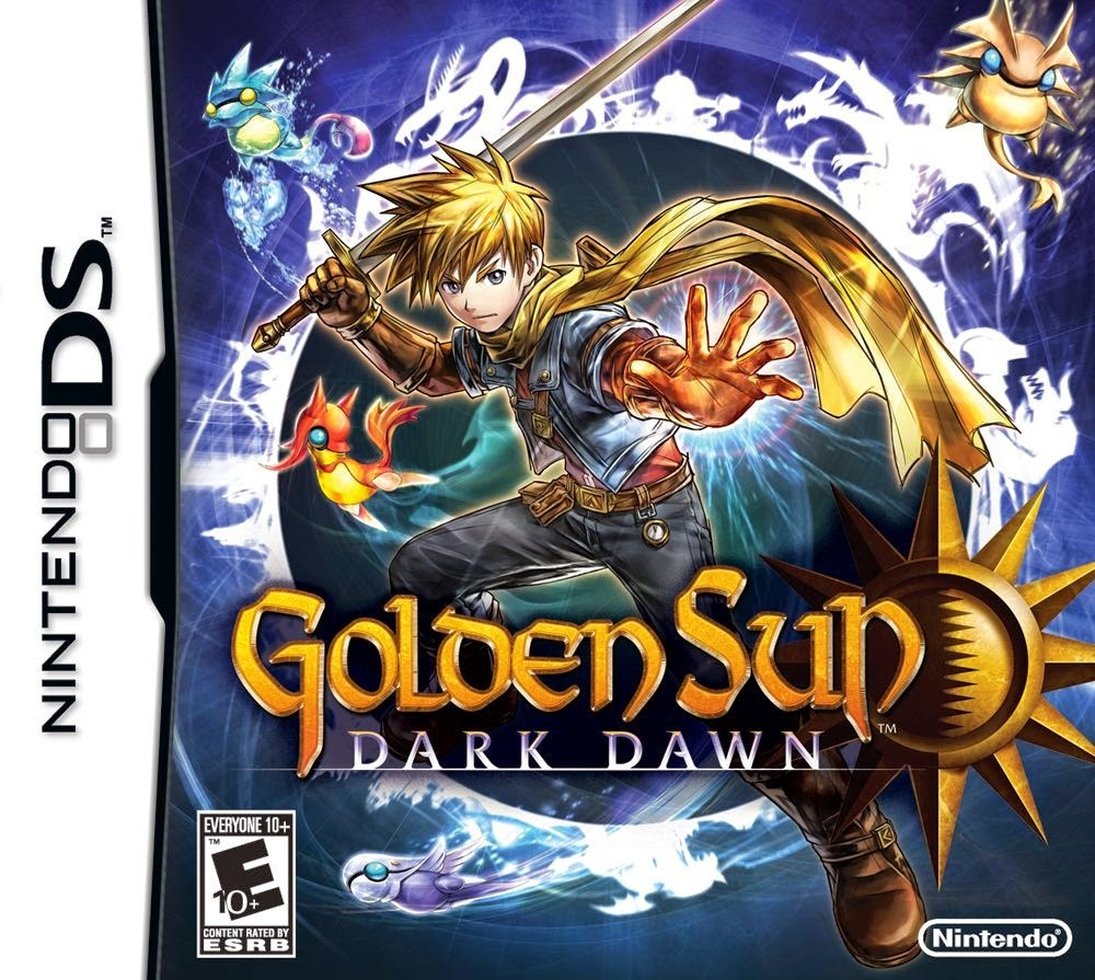Golden Sun Dark Dawn (Amanecer Oscuro) (Español) (Nintendo DS)