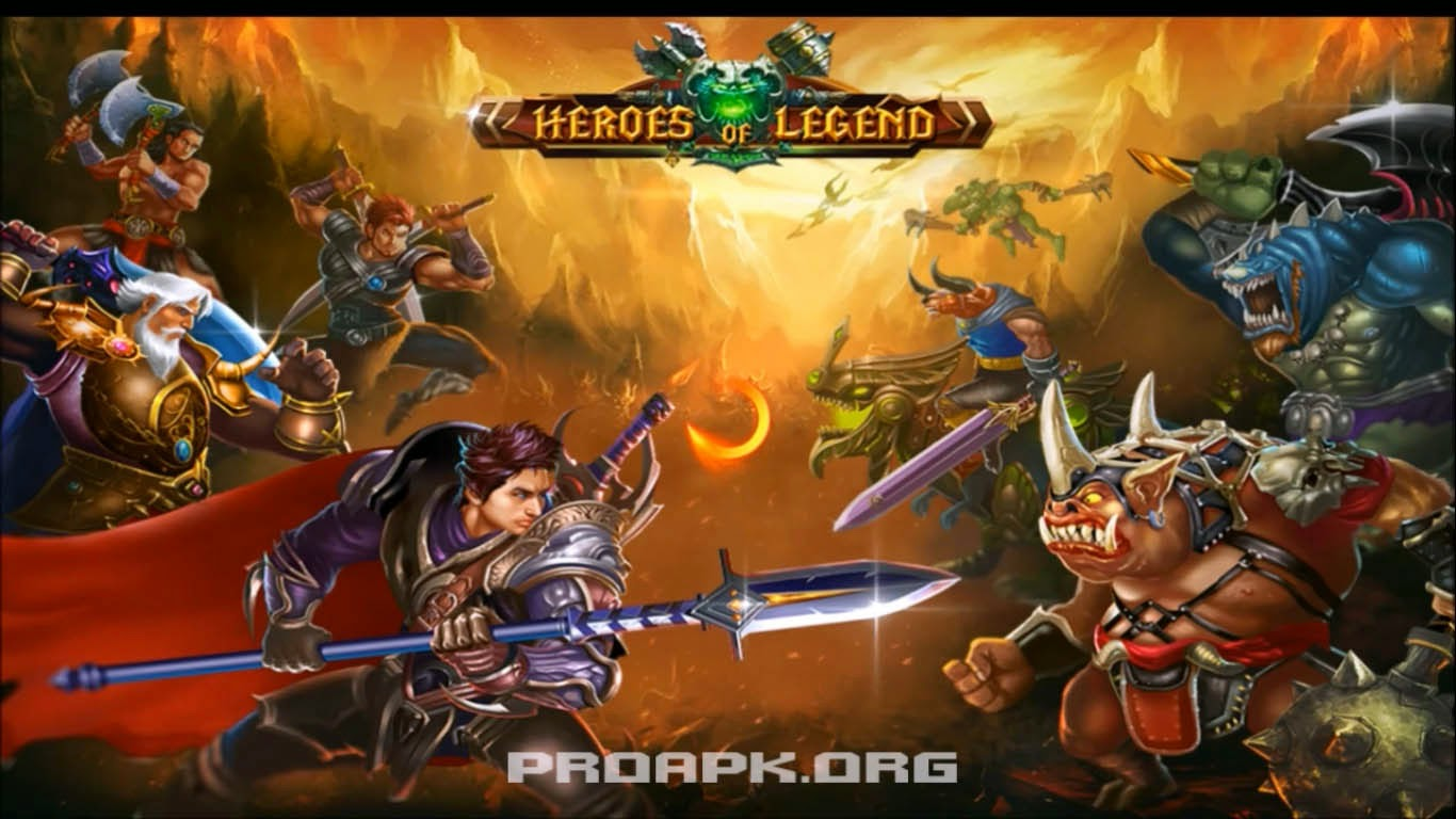 Heroes of Legend Gameplay