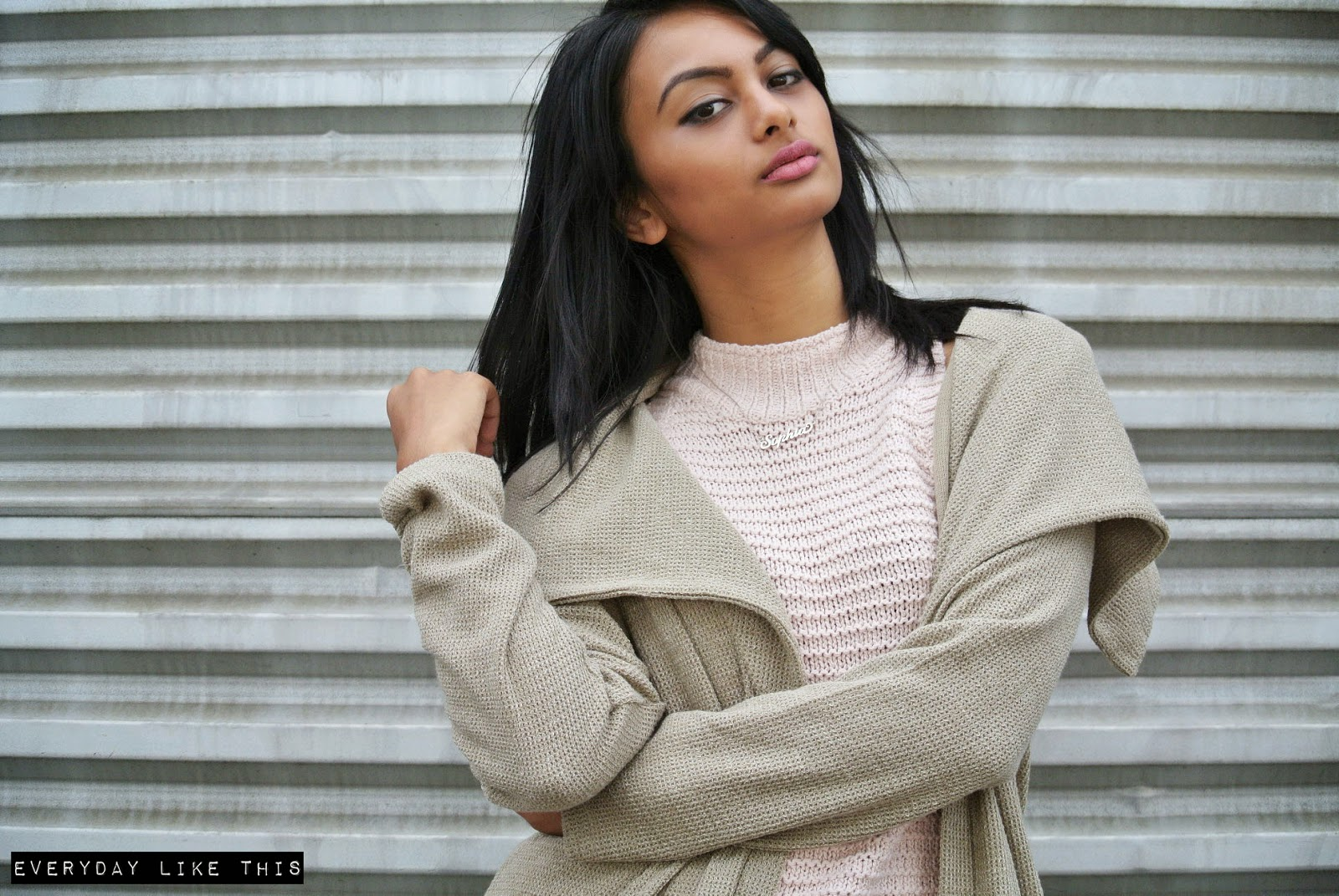Tobi Sportsgirl Bonds Klara Cosmetics everyday like this fashion blogger melbourne style neutral autumn winter 2015