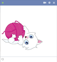 Yarn FB kitty