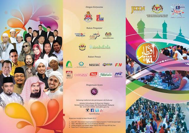 Program Iftar@2015 Jalan Raja Kuala Lumpur | Festival Ramadan