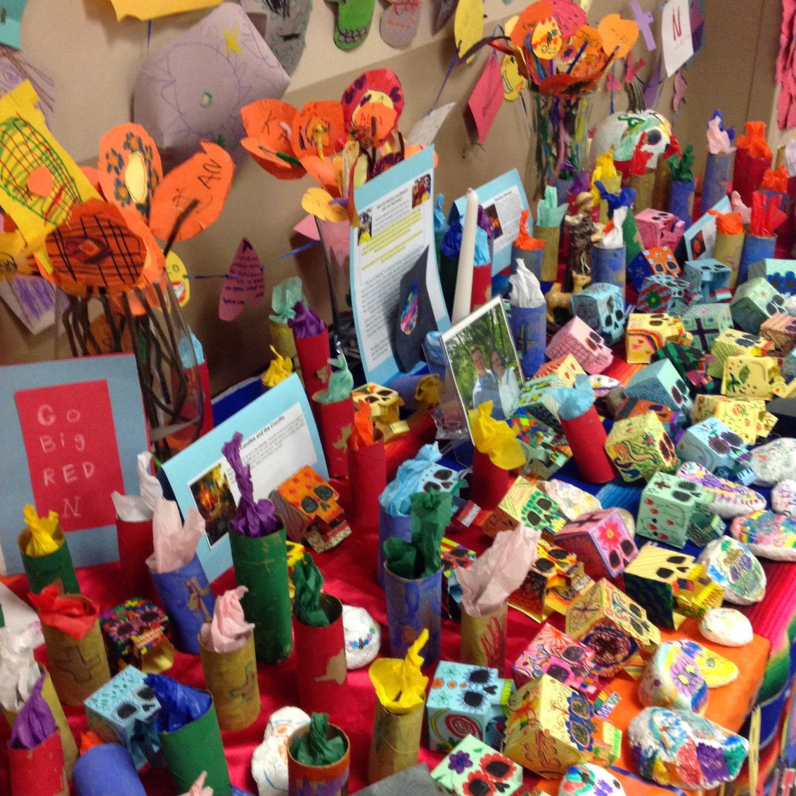 Day of the Dead Alter Ofrenda Lesson Plan Dia De Los Muertos