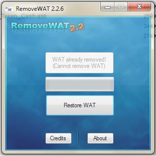 menghilangkan Not Genuine Windows7
