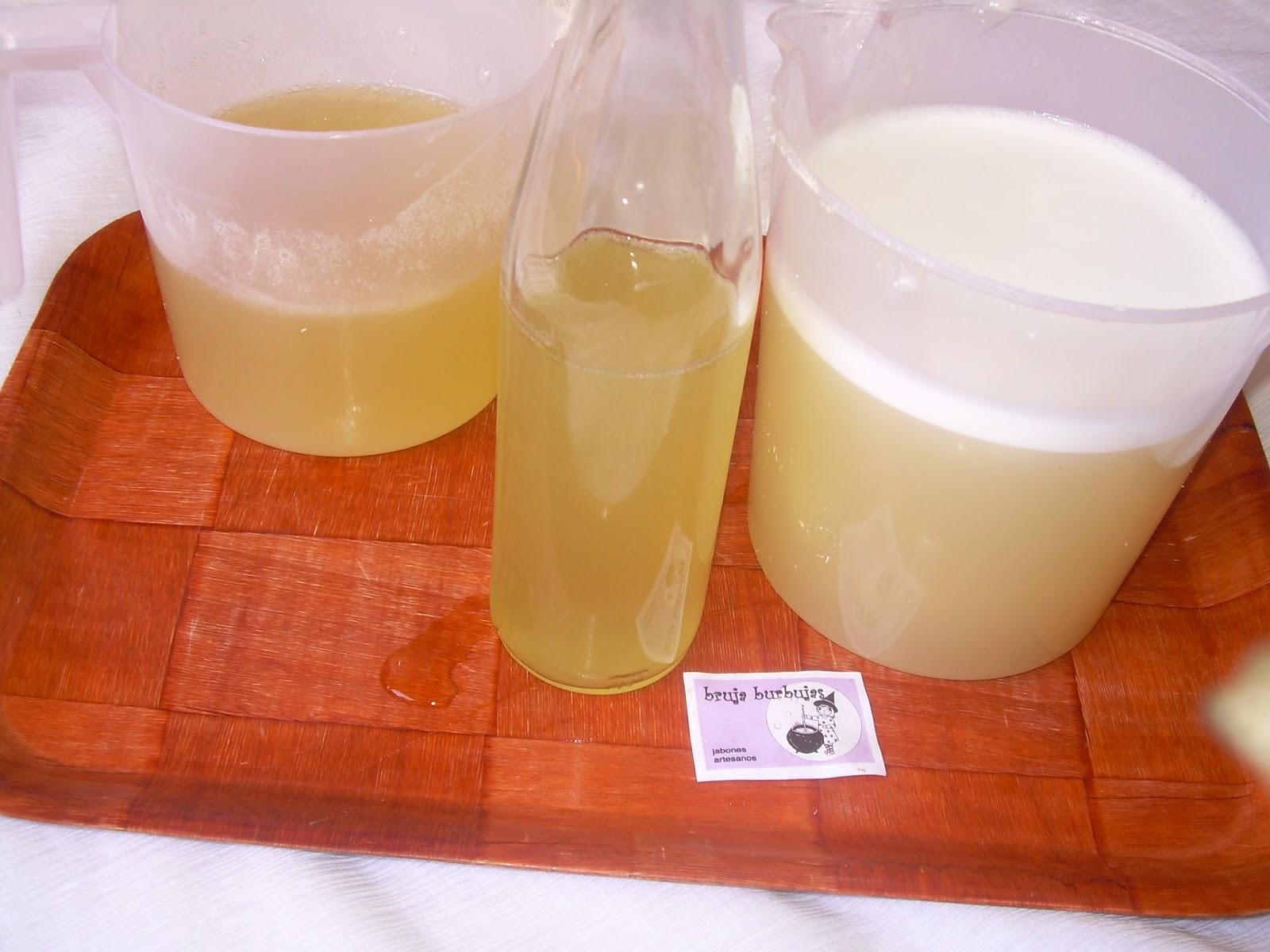 Hacer Del Baño Moco Amarillo:Removed bien para que le alcohol se integre, y veréis que se vuelve