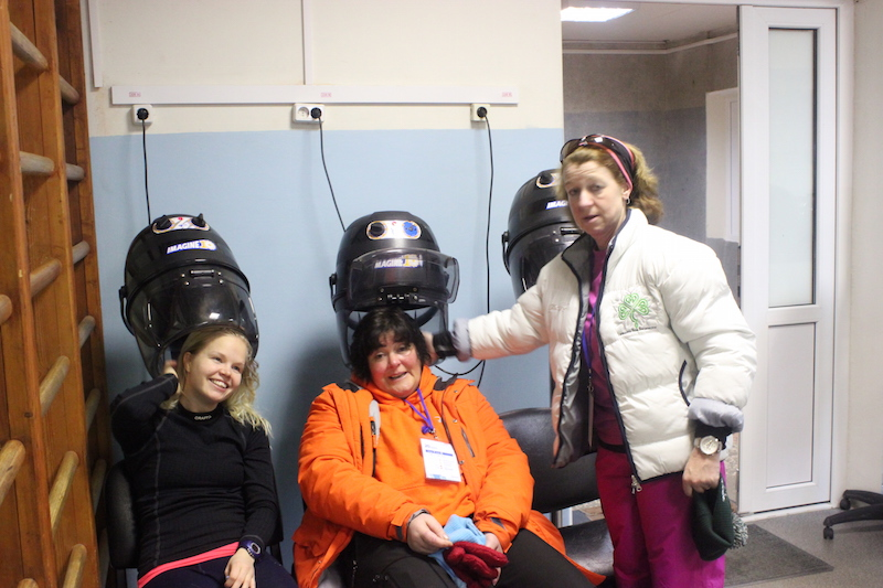 Hair Drying in Murmansk after the IISA World Championships