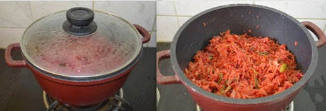 How to make beetroot rice