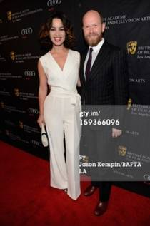Escada en la Bafta Tea Party