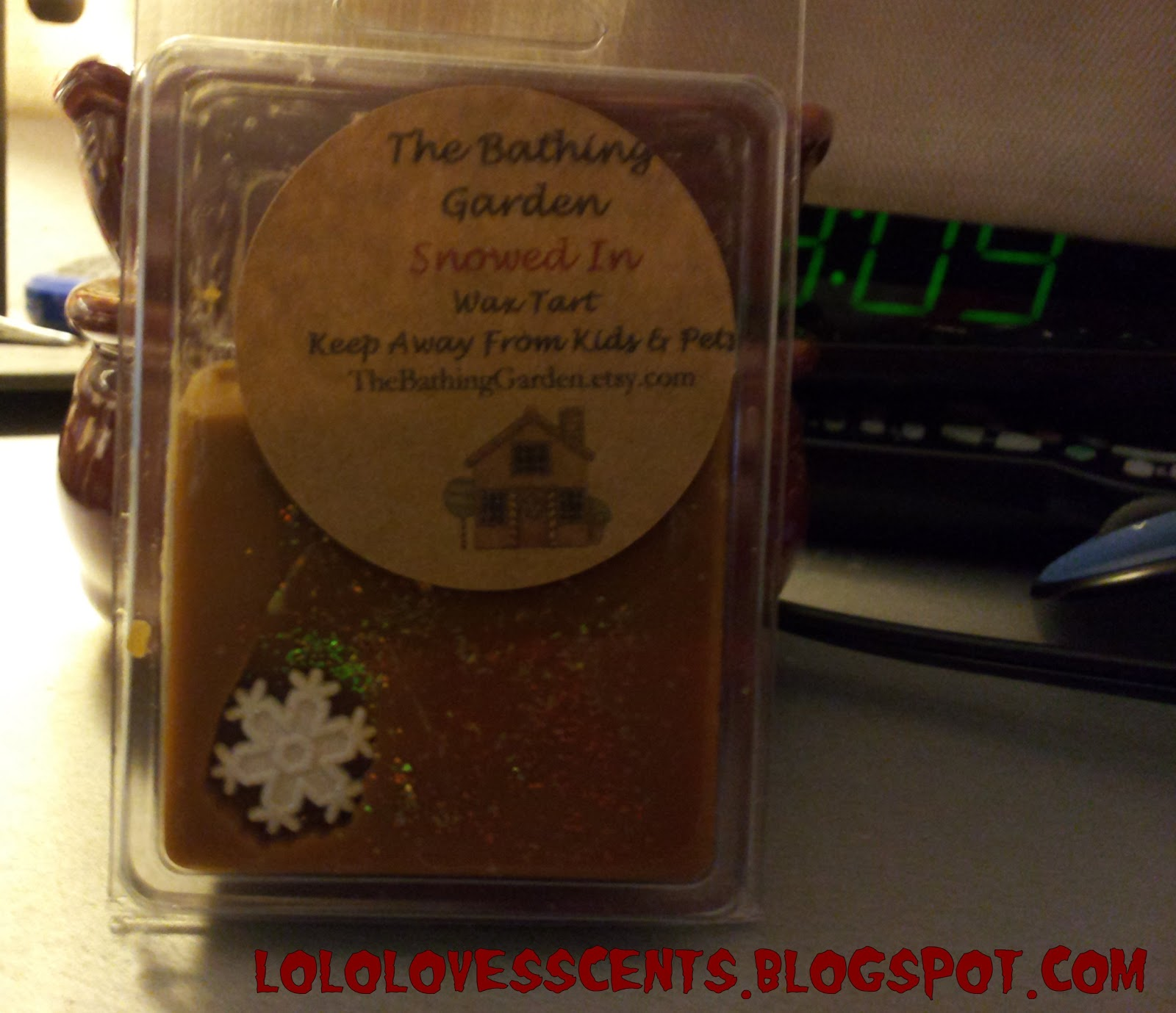Lolo Loves Scents: Review: The Bathing Garden\'s Snowed In