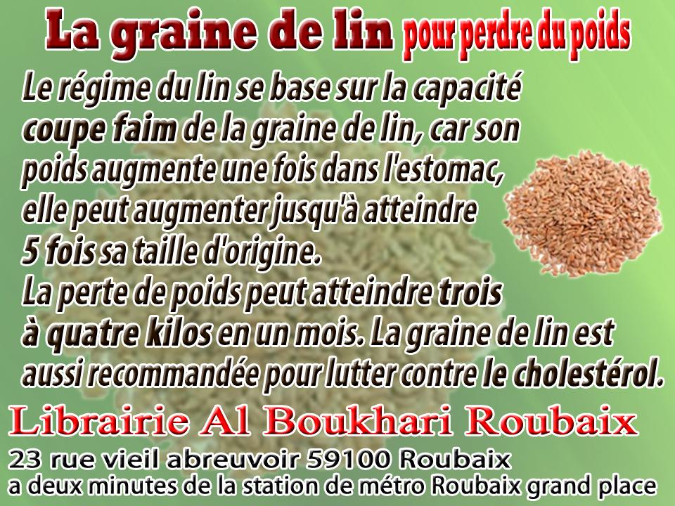 Librairie musulmane al boukhari roubaix la graine de lin - Colorant pour huile de lin ...