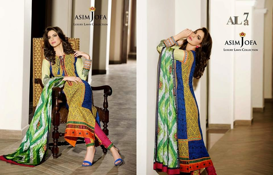 Asim Jofa 2015 Summer Lawn Collection