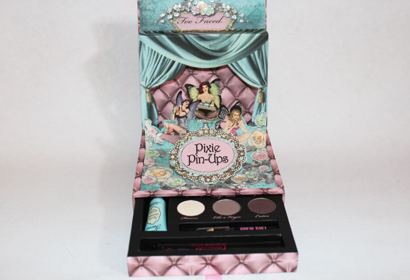 too faced4 Palette Pixie Pin Ups da Too Faced