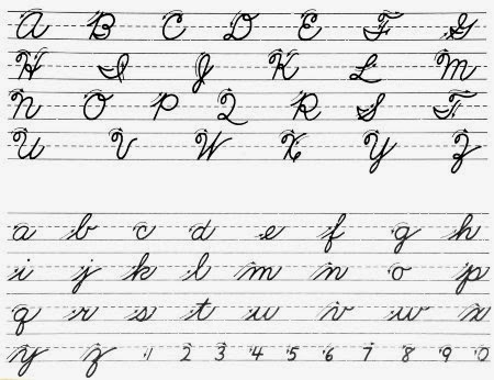 Beautiful Cursive Handwriting