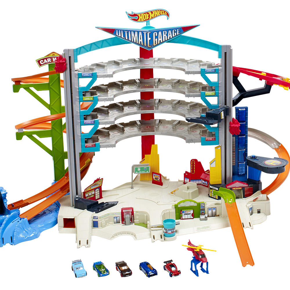 Infomommy insight the hot wheels ultimate garage play set for 1 1 2 kit di garage per auto
