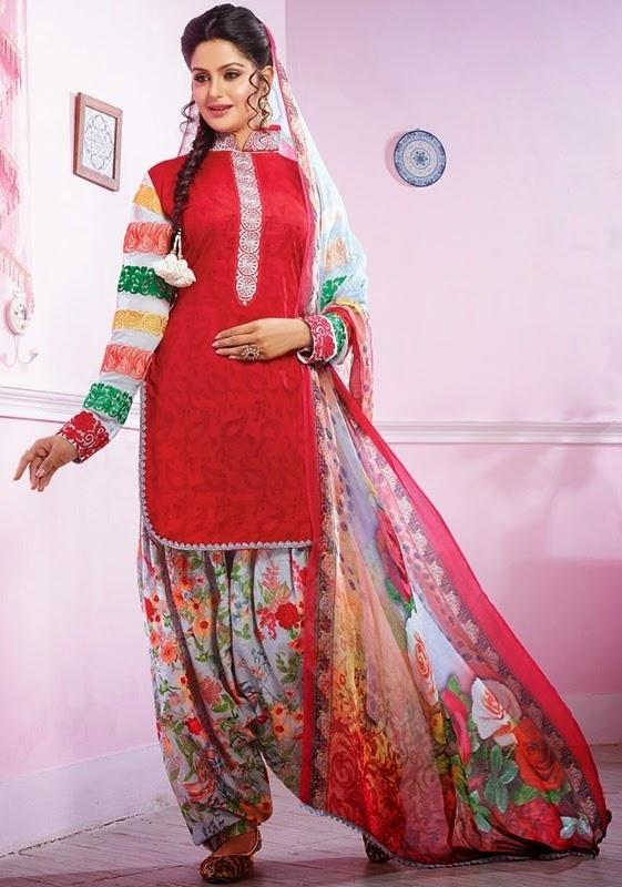 Patiala Salwar Latest Designs
