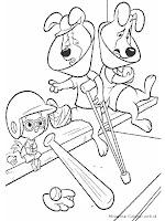 Gambar Kartun Chicken Little Untuk Diwarnai