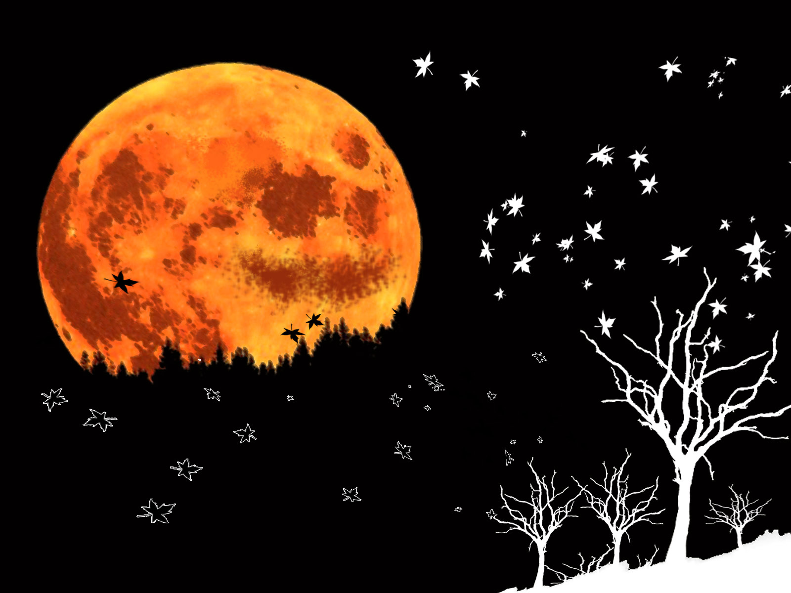 halloween moon wallpaper -#main