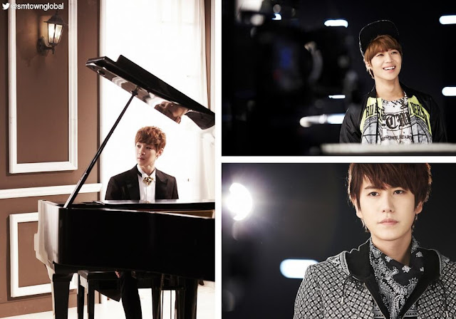 henry lau trap mv collage with taemin + kyuhyun