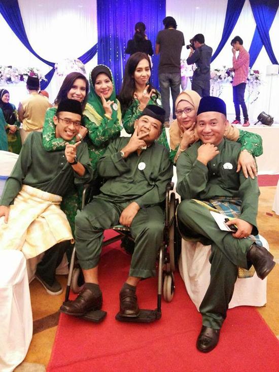 Foto Terkini Mazidul Akmal Pulih