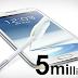 5 Juta Samsung Galaxy Note 2 dijual dalam masa 2 bulan