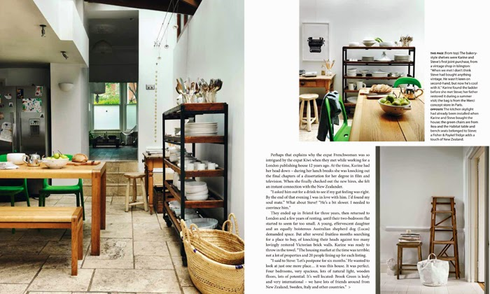 Karine Kong's home, Founder of BODIE and FOU in HOUSE & GARDEN NEW ZEALAND
