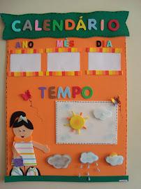 Calendário e tempo juntos