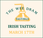 The Wee Dram Irish Tasting