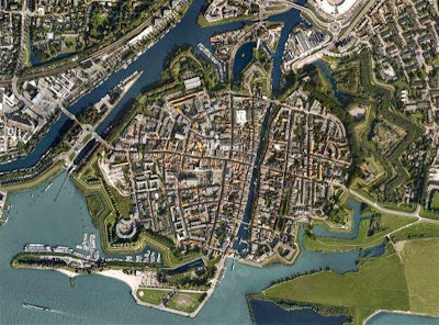 Gorinchem desde Google Earth