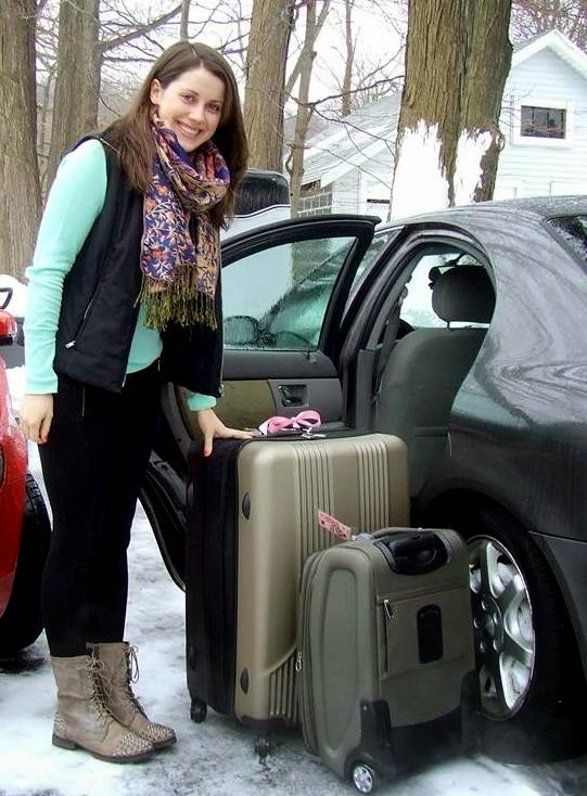 packing light for study abroad