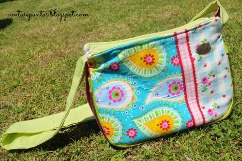 sling bag - mala em tecido