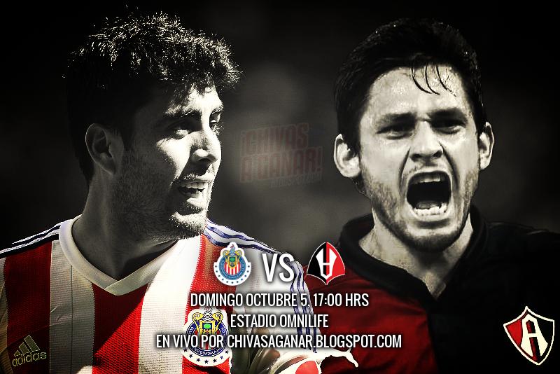 Club Deportivo Guadalajara vs Club Atlas - Jornada 12 Apertura 2014