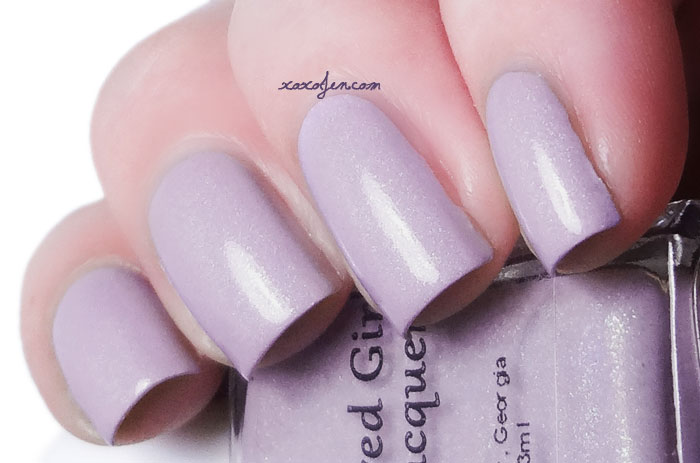 xoxoJen's swatch of Blue-Eyed Girl Lacquer - Cotton Candy Clouds