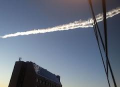 Massive meteor strike