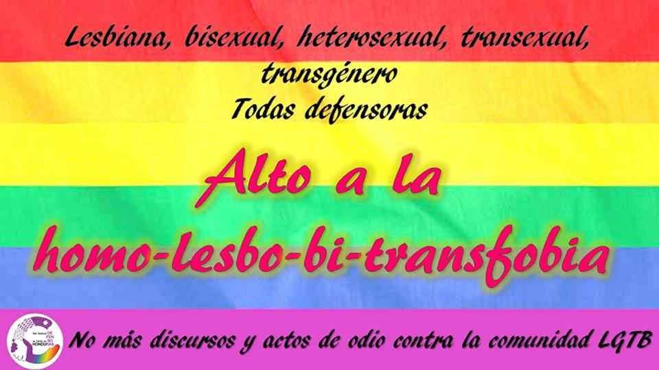 Alto a la homo-lesbo-bi-trasfobia