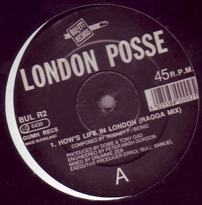 London Posse – Hows Life In London (Remix) (1993, VLS, 320)