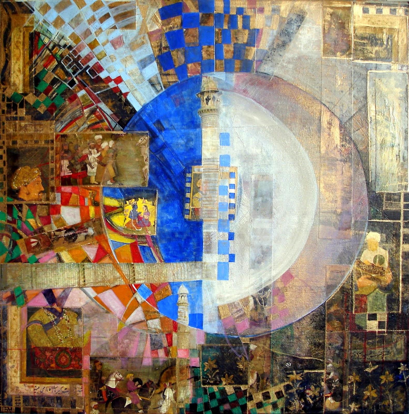 Taj Mahal - 50 x 50 cm - 2014