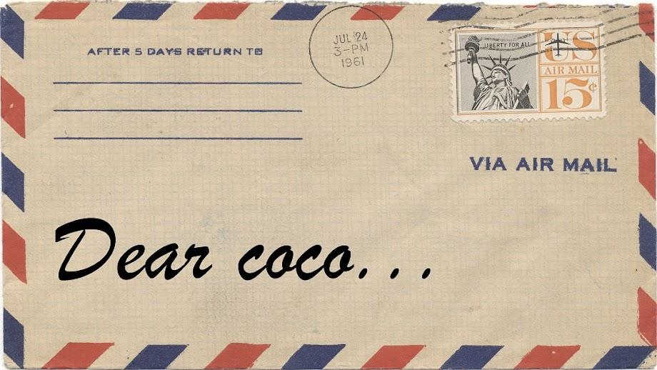 Dear coco