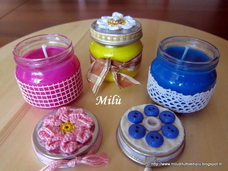 Mil di tutto e di pi candele profumate fatte in casa - Candele fatte in casa ...