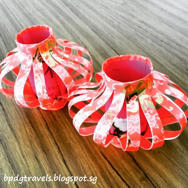 The heng family travel lifestyle blog handicraft red for Ang pow packet decoration