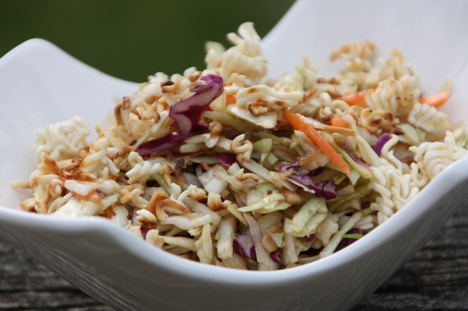... and side dishes. I love this version of Cole Slaw, Asian style