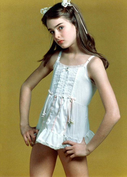 Gary Gross Young Brooke Shields