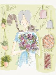 IN MANSARDA CON LA ROBI - da gennaio sulla rivista Fior Fiore in Cucina