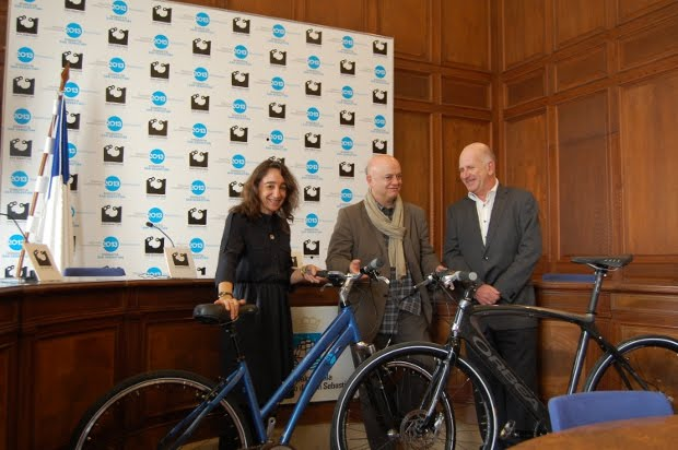 presentación bicicletas oficiales san Sebastián