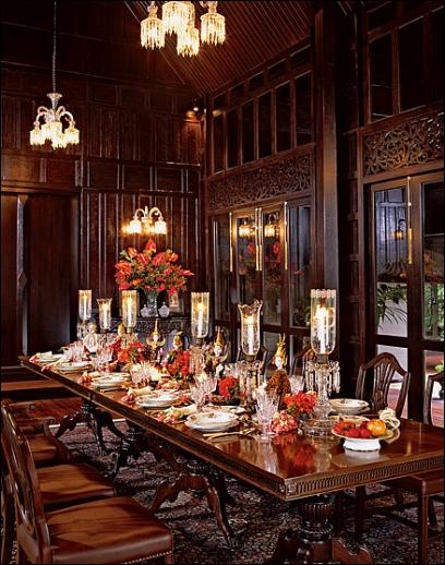 English dining room