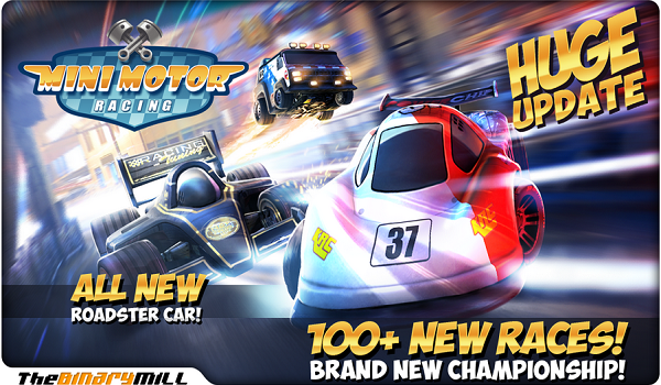 یاری بۆ ئه‌ندرۆید Mini Motor Racing v1.8.1 APK (Mod Unlimited Money )